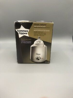 Tommee Tippee Electric Bottle Warmer, White (Open Box)