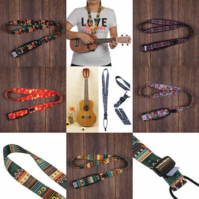 Stylish Ukuleles Hanging Neck Strap Ukulele Sling 48-105 cm Adjustable Length