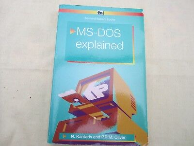 MS-Dos explained book.