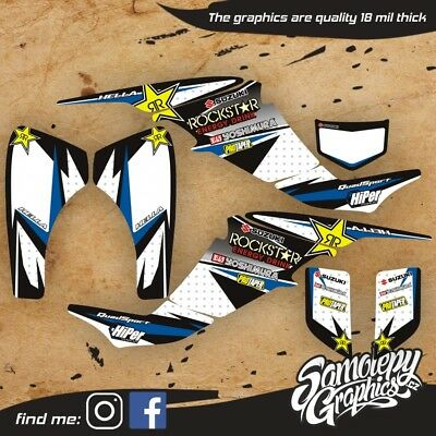 SUZUKI LTZ 400 2003 - 2008 GRAPHICS KIT (thick version)
