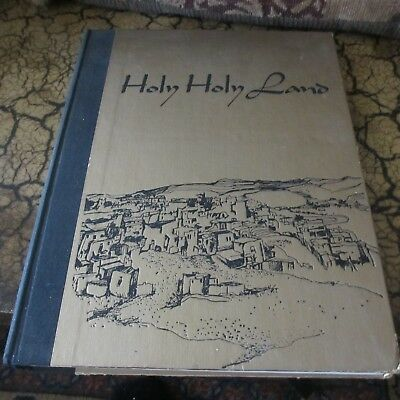 Holy Holy Land; a Devotional Anthology ed by Charles Wallis  (Hardcover – 1969)
