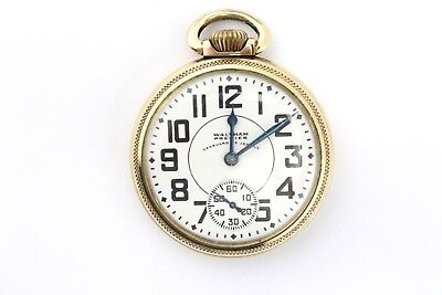 Vintage Waltham Vanguard 10K Gold-Filled Pocket Watch 23 Jewels - Nr - #3364-9
