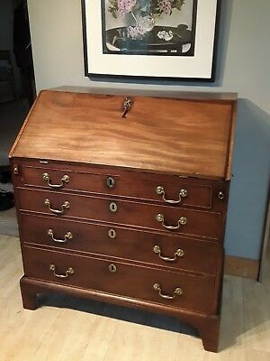 Delightful Georgian Mahogany Antique Bureau