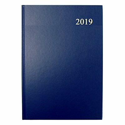Collins Essential A4 1 Day per Page 2019 Diary - Blue
