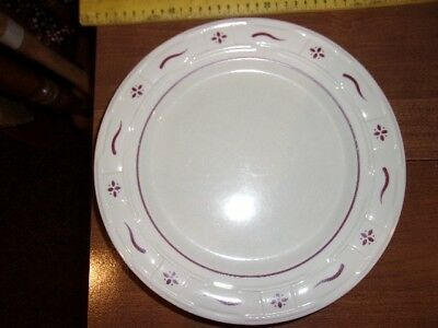 Longaberger Woven Traditions dinner plates (4)