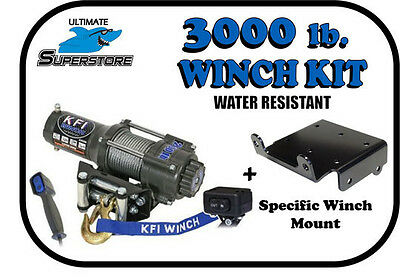 Crew 2011 2012 2013 KFI WIDE Winch Mount Kit  Polaris 500 Ranger Midsize 4x4