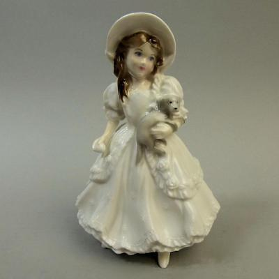 Lovely Royal Worcester Lucy Collectors Society Figurine