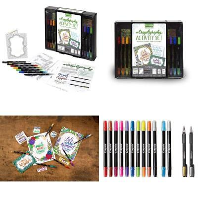 Calligraphy Beginner Hand Lettering Kit Create cards, gift tags crafts Tutorials