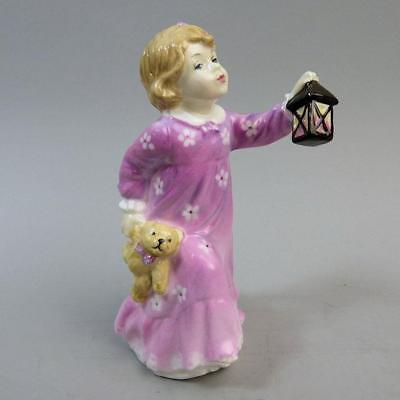 Scarce Royal Doulton Time For Bed Figurine Hn 3762 1996-1998 Only