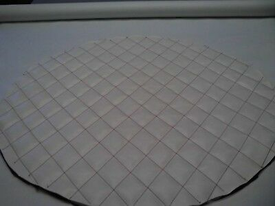"""Fuel Tank Covers Peterbilt 26"""" Tank  Covers Set Of 2 White  With Red Diamonds"""