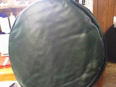 """Set Of 2  26"""" Fuel Tank Covers Dark Oxen Green Smooth"""