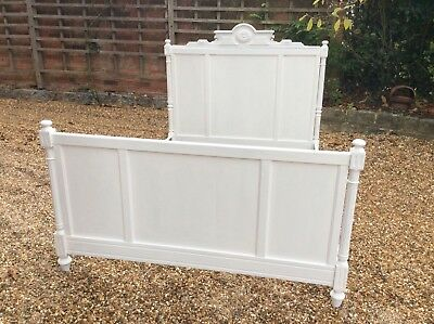 French Painted Bed Frame 4'6