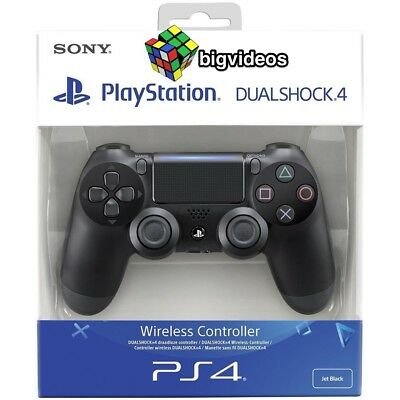 SONY PS4 - Controller Dualshock 4 V2 Black New Wireless PAD NERO PLAYSTATION 4