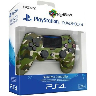 CONTROLLER SONY Camouflage PS4 DUALSHOCK V2 PAD MIMETICO PLAYSTATION 4  MILITARE