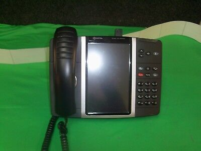 Mitel 5360 Touch Screen Color Lcd Display Ip Phone W/ Cordless Accessory Module