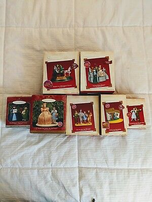 Hallmark Keepsake Ornaments - The Wizard of Oz - Lot of 7, 3 with Sound & Light