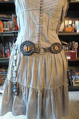 Dragon Eyes Belt handmade renaissance gypsy steampunk costuming cosplay
