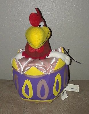 Vintage Looney Tunes Foghorn Leghorn Egg Plush Ace Play By Play With Tag!