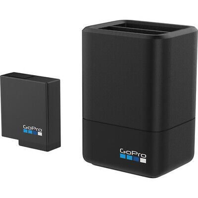 GoPro AADBD-001 Dual Battery Charger + Battery (Hero 5/6/7 Black)