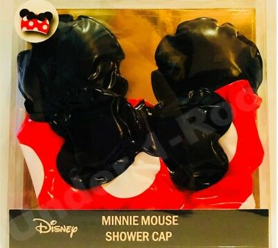 PRIMARK LADIES DISNEY MINNIE MOUSE BOXED SHOWER CAP - Brand New In Box