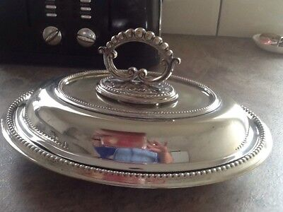 Silver Plate Tureen Dish