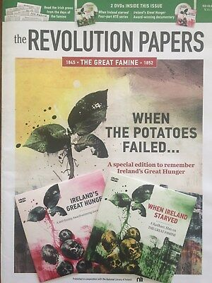 THE REVOLUTION PAPAERS *THE GREAT FAMINE* 1845-1852 Special Edition Inc. 2 DVDs