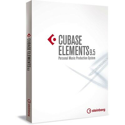 Steinberg Cubase Elements 9.5 EDU Music Production Recording FREE UPGRADE TO 10