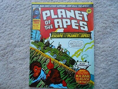 Issue 59 Planet Of The Apes Comic