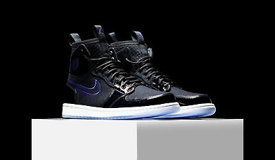 1b585255fec Uk 12 Nike Air Jordan 1 Retro Ultra High Mens Trainers Eu 47.5 'space Jam