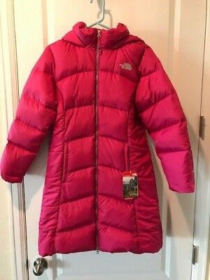 379fda88c THE NORTH FACE Girls Elisa 550 Down Parka New With Tags XLarge MSRP:$199