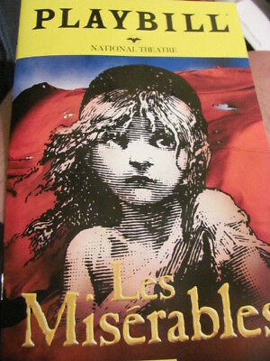 LES MISERABLES Playbill Broadway TOUR NORTH AMERICAN TOUR Musical New York
