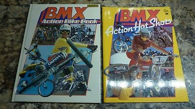 Old School BMX Books Two 2 x Action Bike And Shots NOS NEW Christmas present