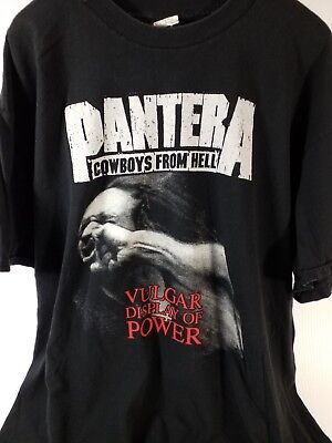 Pantera Cowboys From Hell Vulgar Display of Power Stonger than All T shirt #980