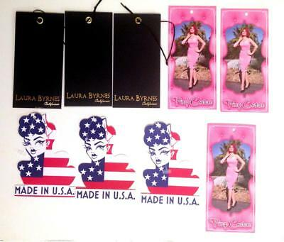 9 Pinup Girl Clothing tags Laura Byrnes Michelle Pitt -make ur wardrobe complete