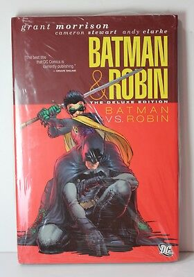 Batman & Robin Batman VS Robin The Deluxe Edition DC COMICS HC Hardcover Book