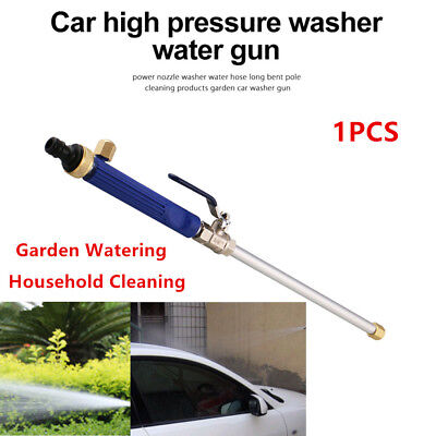 High Pressure Power Car Washer Spray Nozzle Water Hose Wand Accessories Home Kit