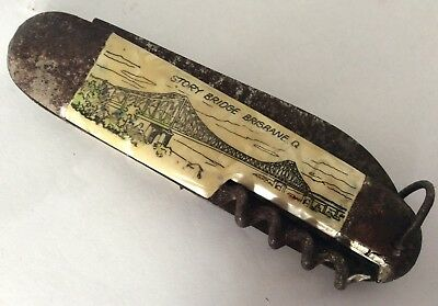 Vintage Story Bridge Brisbane Pocket Knife - Germany