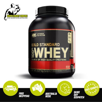 OPTIMUM NUTRITION GOLD STANDARD 100% WHEY PROTEIN WPI, 2, 5 or 10lbs