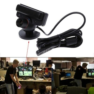 USB Move Eye Motion Sensor Camera Zoom w/ Microphone For Sony Playstation 3 PS3