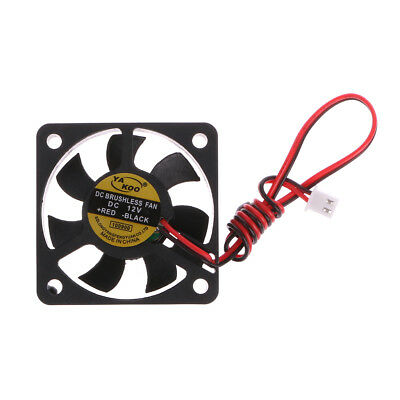 1pc Brushless DC Cooling Fan 40x40x7mm  9 blades12V  0.12A  2 pin UK seller