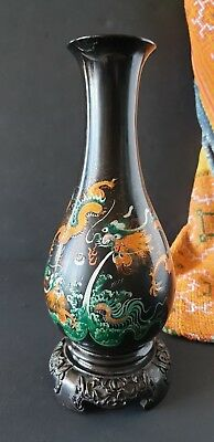 Old Chinese Bakelite Dragon Vase b.) …beautiful collection piece