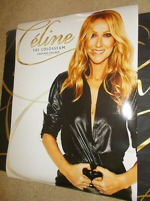Celine Dion The Colosseum Caesar's Palace Poster Exclusive From Caesar's + Bag