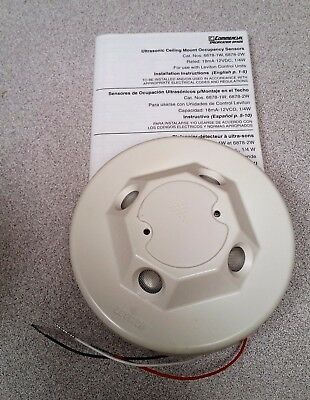 Leviton Ultrasonic Room Occupancy Sensor Model 6878-2W NEW In Box