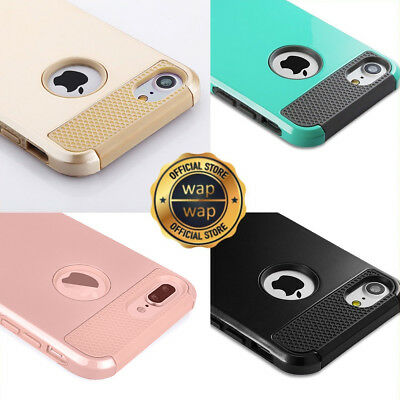 For iPhone 6 6S 8 7 Plus Case Shockproof Hybrid Heavy Duty Rubber Hard Cover