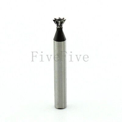 60° Degree HSS High Speed Steel Dovetail Groove Cutter End Mill Milling 6-30mm