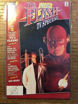 "The Flash TV Special #1 (1991) DC Comics ""MINT"" Condition_IN PLASTIC SLEEVE"