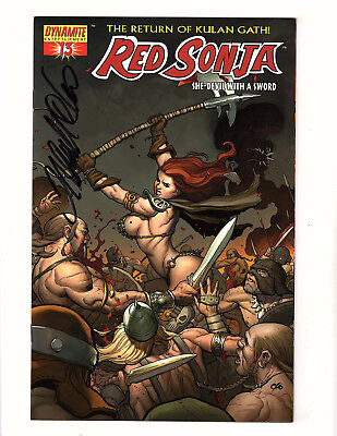 Red Sonja #13 (2006, Dynamite) NM She-Devil with a Sword Signed by Frank Cho