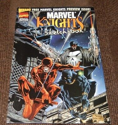 1998 Marvel Knights Sketchbook A Marvel Comics Special Edition Preview Issue