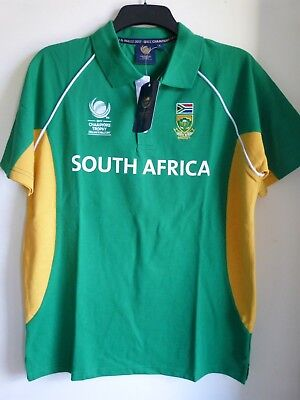 Official ICC Champions Trophy 2017 South Africa Men's Polo Shirt, Size:l/xl/2xl