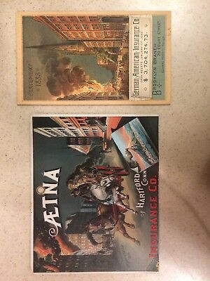 Lot Of Two Old Insurance Co. Labels